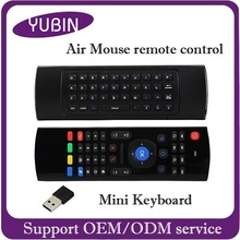 The newest recharge 2.4g air mouse for android tv box