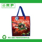 Cartoon Toy Prints PVC Zipper Bag