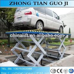 Small car elevator customized scissor lift platform lift used car price
