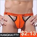 Hot sexy y algodão bolsa baratos biquinis tanga homens k818-dk