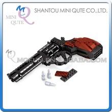Mini Qute DIY military army assault rifle pistol gun Revolver plastic cube building blocks bricks educational toy NO.22511