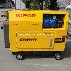 SALES HOT!!! 188F diesel engine 6KW silent diesel generator