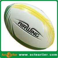 cheap rugby ball with custom logo