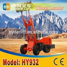 Obra de construcción cargadores HY932 clark transmisión