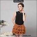 meninas encantadora bowknot decorativos curta mini saias de fotos