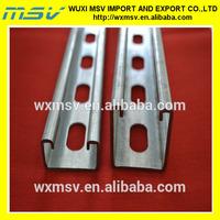 roll formed mild steel C Channels