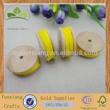 Personalizado pequeno carretel de madeira, De madeira linha do carretel, Mini linha do carretel