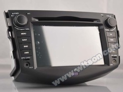 WITSON ANDROID 4.4 DOUBLE DIN CAR DVD FOR TOYOTA RAV4 2008-2011 WITH A8 DUAL CORE CHIPSET DVR SUPPORT WIFI 3G APE MUSIC