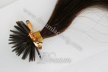 2015 Best Selling!! 6A Brazilian/Malaysian/Peruvian Virgin Hair 100% Human Hair U Tip/Nail Hair Extensions