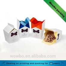 Fancy design hot sale dog biscuits cardboard packing box