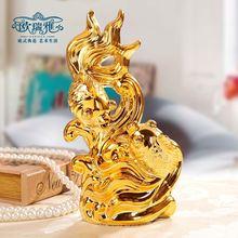 Wedding Decoration Ceramic Art home furnishings ceramic crafts jewelry lovers Lucky Dragon