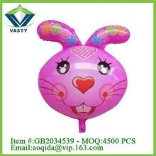 Lovely rabbit set balloon party toy cartoon balloon