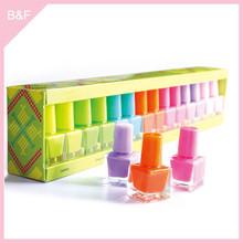 factory wholesale nail polish fashion high quality nail art fruit beauty bar