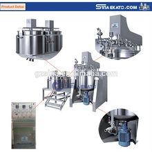 China new product Sina Ekato chemical vacuum emulsifying mixer