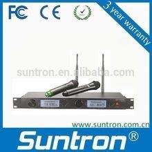 Suntron Diversity Wireless Microphone/cheap wireless microphone