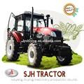 110HP 4wd diesel tracteur avec toutes sortes de outils