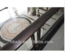 hot sale ! aluminium stair railings+aluminium anodized profile