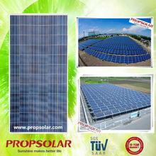 Propsolar TUV CE ISO certificated 100kw thin film solar panel