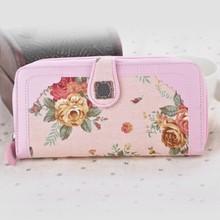 Hot Fashion Lady Women Retro Purse Clutch Wallet Simple Long Card Holder Bag SV007250