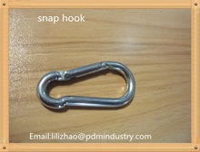 4*40 DIN5299C snap hook/Carabiner/Safety buckle,carbon steel ,zinc plated ,7.9kg/1000pcs from PDM INDUSTRY