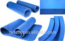 NBR foam Yoga Mat /fitness exercise gym mat