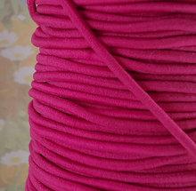Elastic bands 2mm - Fuchsia Pink Elastic Cords String Headbands Wristbands Elastic by the yard Elastic Cord