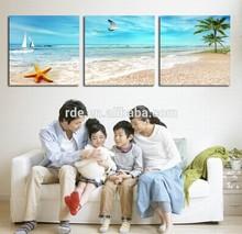 Group Digital Seascape Photo To Canvas Print