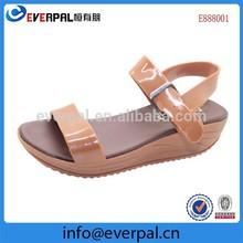 Girls Wedge Heel Sandals Platform Beach Shoes