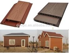 Outdoor WPC wall panel /composite exterior wall siding