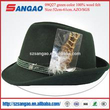felt hillbilly hat with size 52cm -61cm