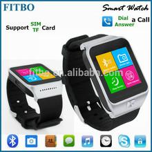 Hot new Anti-lost Single SIM TF pedometer internet watch phone