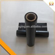 black thick soft pet black plastic stretch film for agriculture