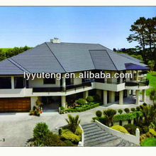 More Strong than Plastic Roof Tile, High Quality Stone Coated Metal Roof Tile,Metal Shingle Type for Roofing