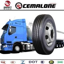 DOT ECE CCC GCC REACH, ISO9001 ISO14000 Certification TBR tyres in bulk