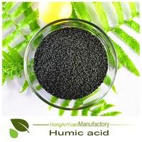 organic humic acid fertilizer, agricultural humic acid granule from Leonardite/Lignite, humic acid 65%