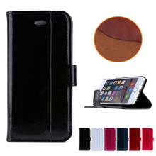 Factory Price New Product Phone Case For Apple Iphone 6 Case Leather Wallet