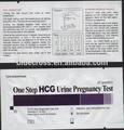Venta al por mayor HCG prueba de embarazo / tira de prueba / de la orina prueba de embarazo kit