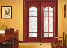 slide wood door interior/interior wood slide door