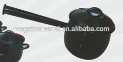 enamel pot with long handle enamel stew pot