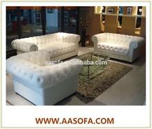 European Classic Chesterfield Sofa,Home 1+2+3 Chesterfield Sofa,Antique Chesterfield Leather Sofa 801