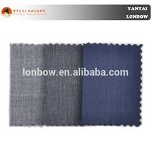 For men's jacket 100% wool bird eye fabric