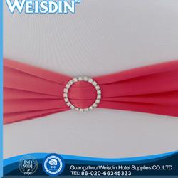hotel china wholesale organza fabric arm chair sash