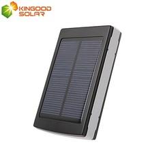 Factory price Monocrystalline solar panel 5V 2.1A dual USB portable mobile solar power bank 30000 mah for mobile phones