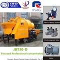Jbt30-d portátil pequeno motor elétrico betoneira bomba