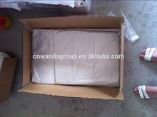China manufacturer HDPE/PO vest handles bags white plastic T-shirt bag
