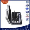 Classe f1 1mg-500g poids bullion, en acier inoxydable poids spécifique, jeu de poids de calibrage