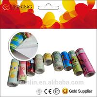 Decorative and protective self adhesive PVC wallpaper border edging