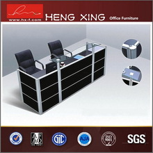 High potency new design branded l shaped reception table