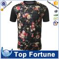 bordado de la moda camiseta unisex