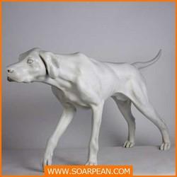 Customized Decoration Vivid Hound Statue